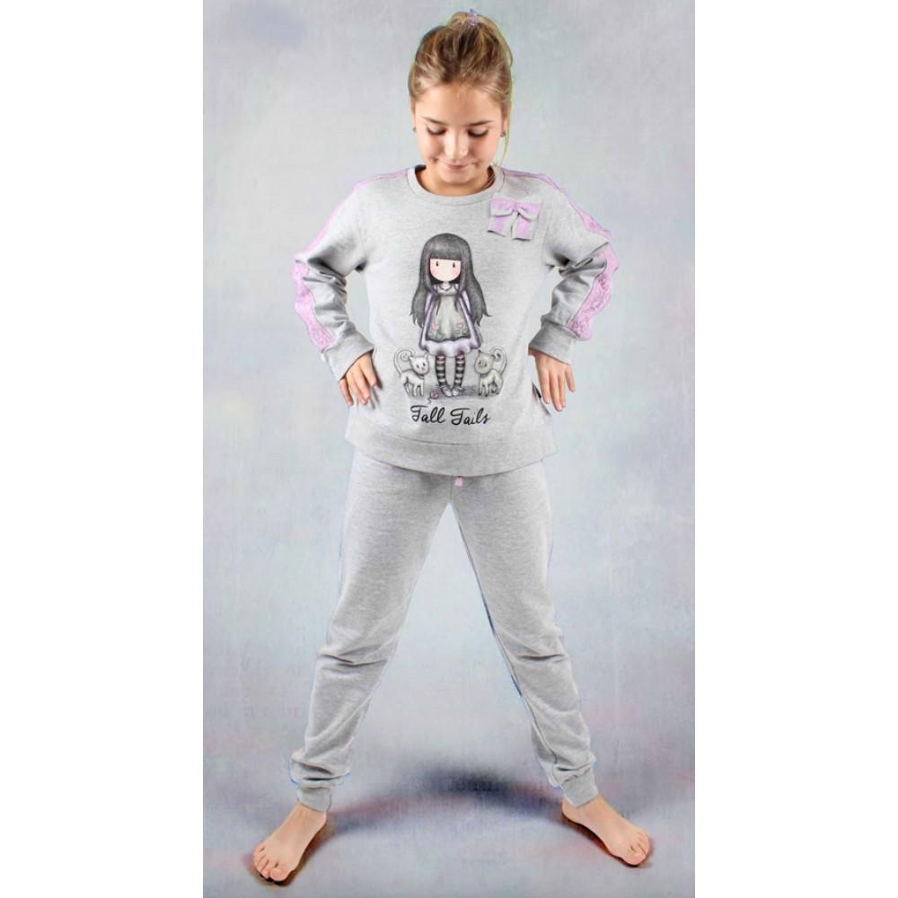 Pijama Gorjuss niña junior Tall Tails manga larga