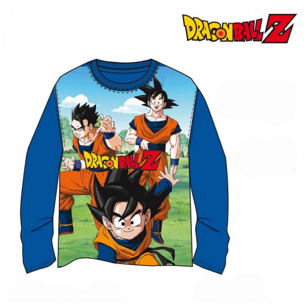 Camiseta Dragon Ball Z niño Goku Son Goten manga larga