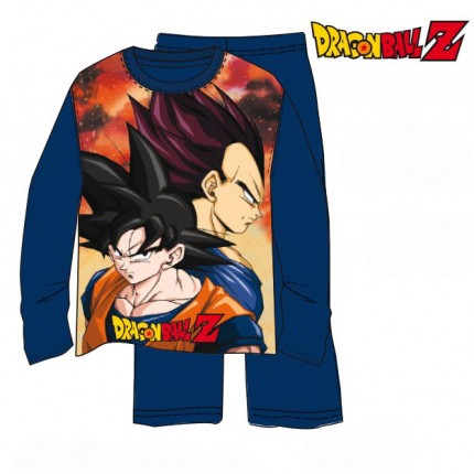 Pijama Dragon Ball Z niño Son Goku y Vegeta manga larga