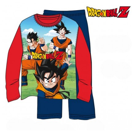 Pijama Dragon Ball Z niño Goku Son Goten manga larga