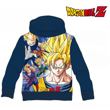 Sudadera Dragon Ball Z niño Super Saiyan capucha