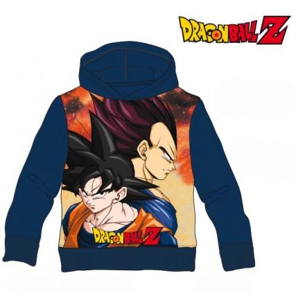 Sudadera Dragon Ball Z niño Vegeta y Goku capucha