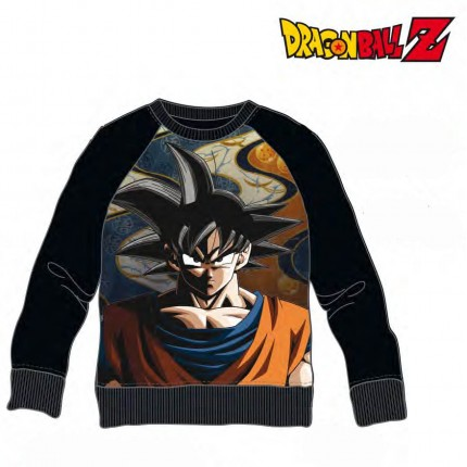 Sudadera Dragon Ball Z adulto Son Goku cuello redondo