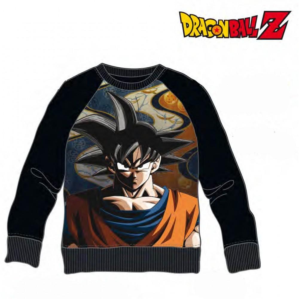 Sudadera Dragon Ball Z adulto Son Goku cuello redondo