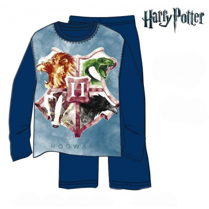 Pijama Harry Potter niño Hogwar junior manga larga