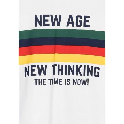 Detalle estampado Camiseta Tiffosi Kids Sancti niño junior manga larga
