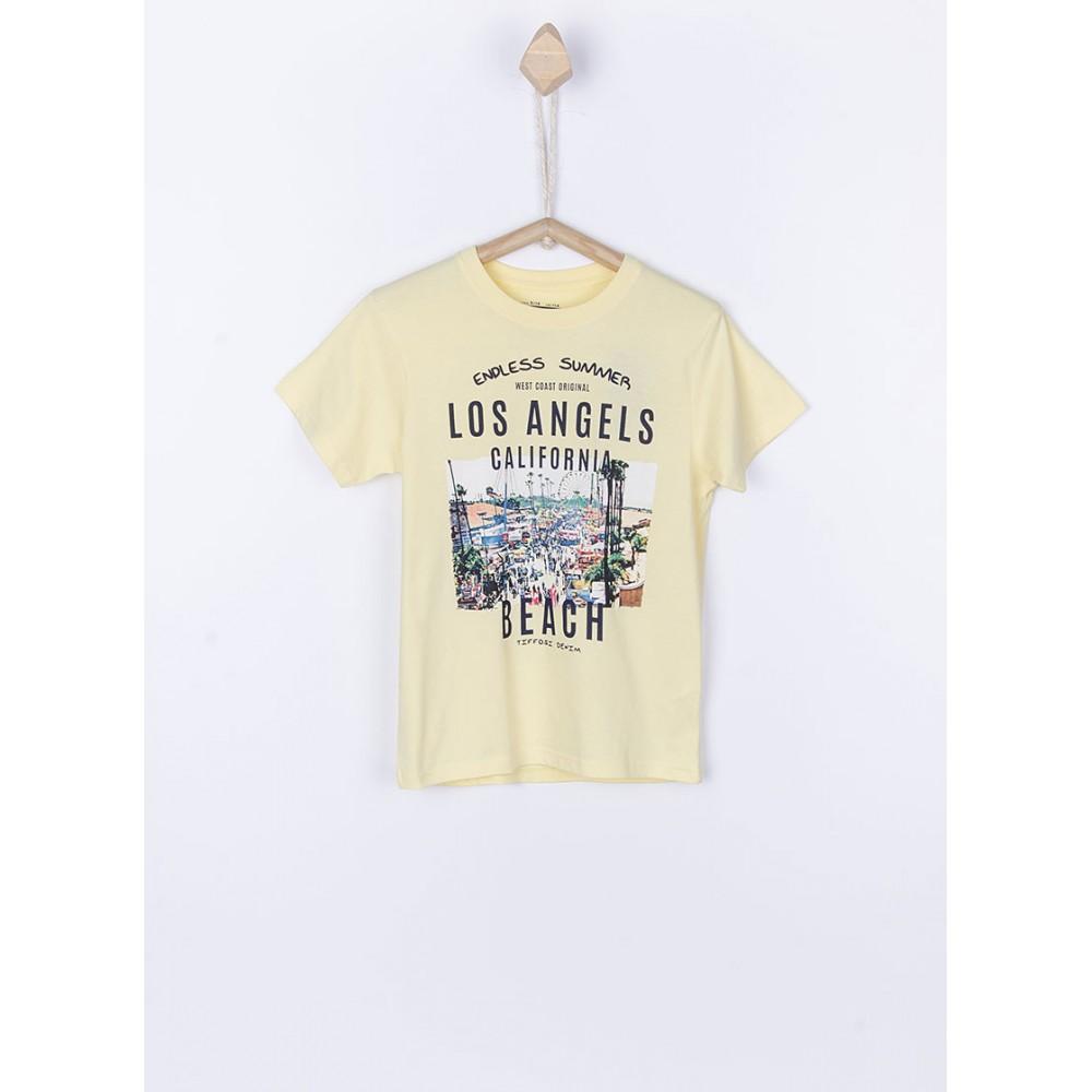 Camiseta Tiffosi Rodrigo niño junior manga corta