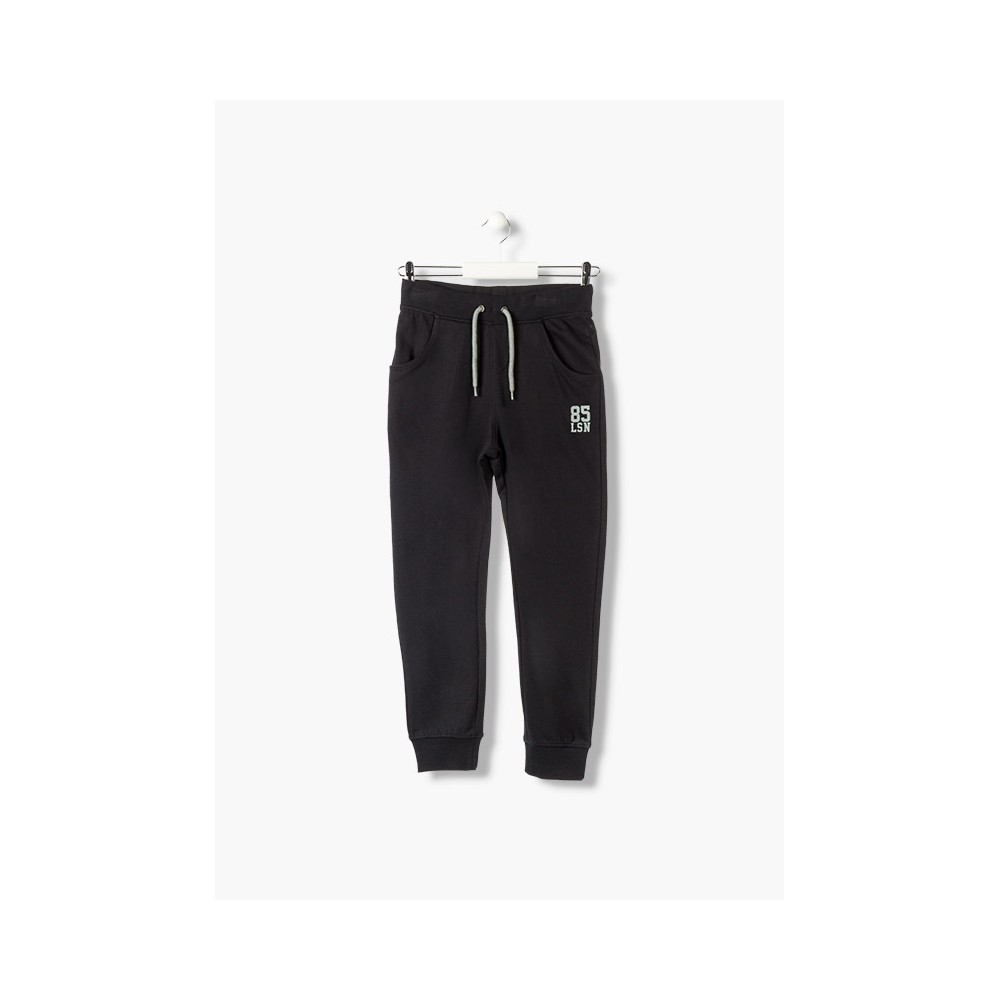 Pantalón básico Losan Kids niño infantil sin perchar Negro