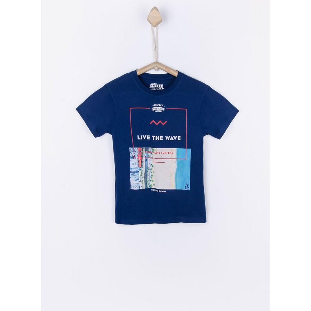 Camiseta Tiffosi Gabriel niño junior manga larga