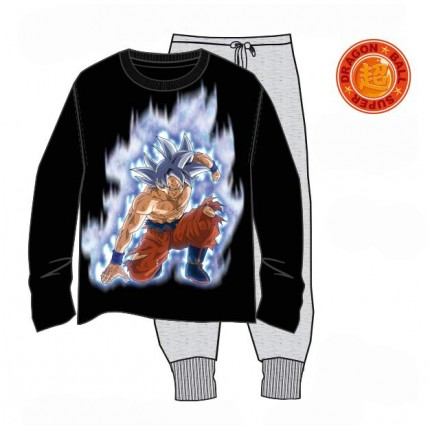 Pijama Dragon Ball Z Super hombre manga larga
