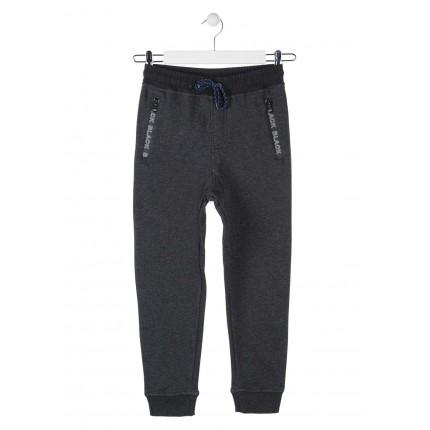 Pantalón Jogging Losan niño junior Black cordón