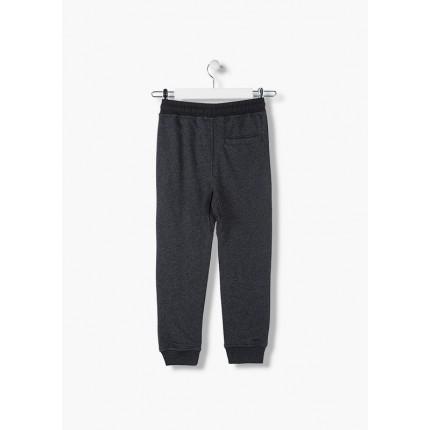 Parte trasera Pantalón Jogging Losan niño junior Black cordón