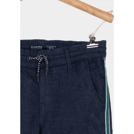 Detalle cordón Pantalón Tiffosi Kids Denim Mason_1 niño junior