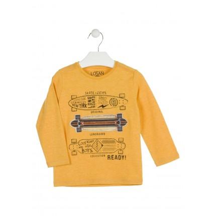 Camiseta Losan KIds niño READY! infantil manga larga