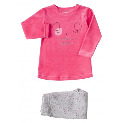 Pijama Losan Kids niña Choose me infantil vellut dos piezas