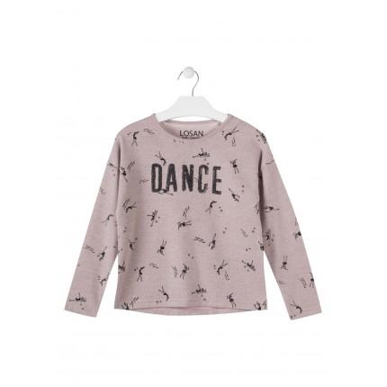 Jersey Losan niña DANCE junior estampado