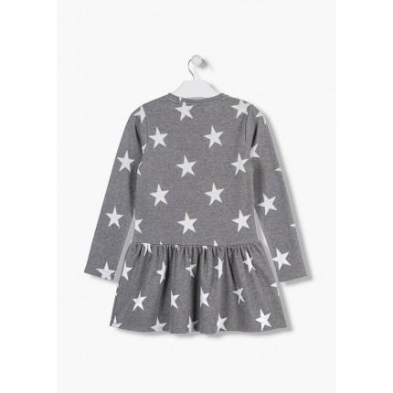 Espalda Vestido Losan niña junior Estrellas