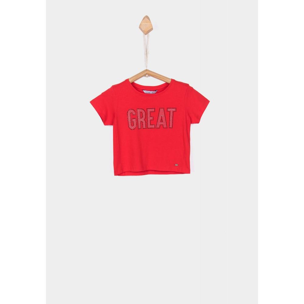 Camiseta Tiffosi Kids Callie niña top corta