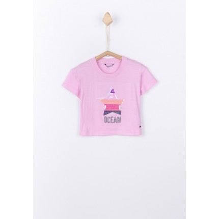 Camiseta Tiffosi Kids Binie niña Top corta