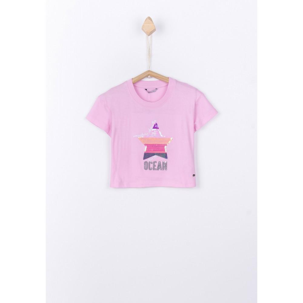 Camiseta Tiffosi Kids Binie niña Top corta