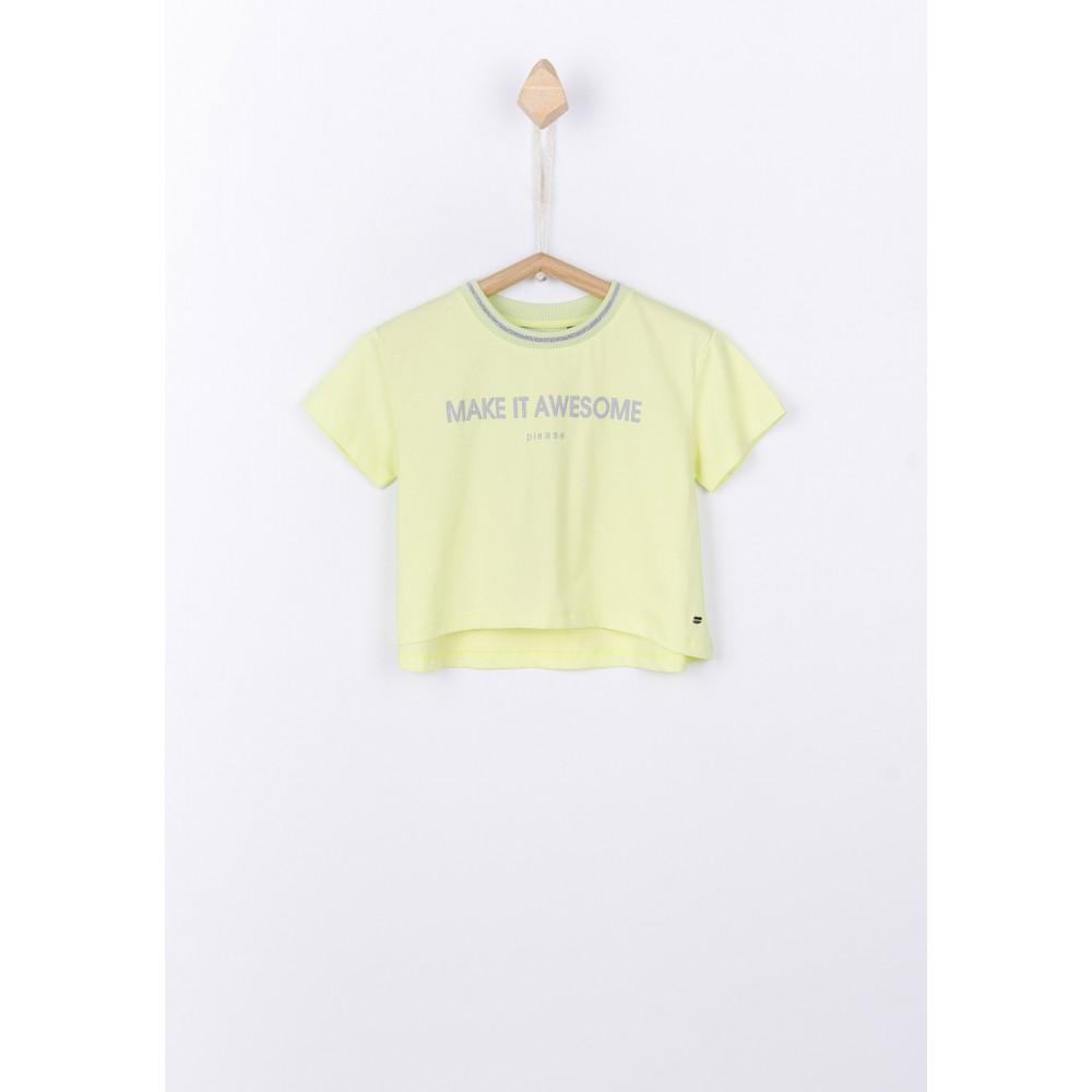 Camiseta Tiffosi Kids Sweet niña Top corto