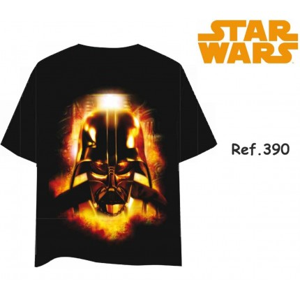 Camiseta Star Wars hombre Dark Vader manga corta