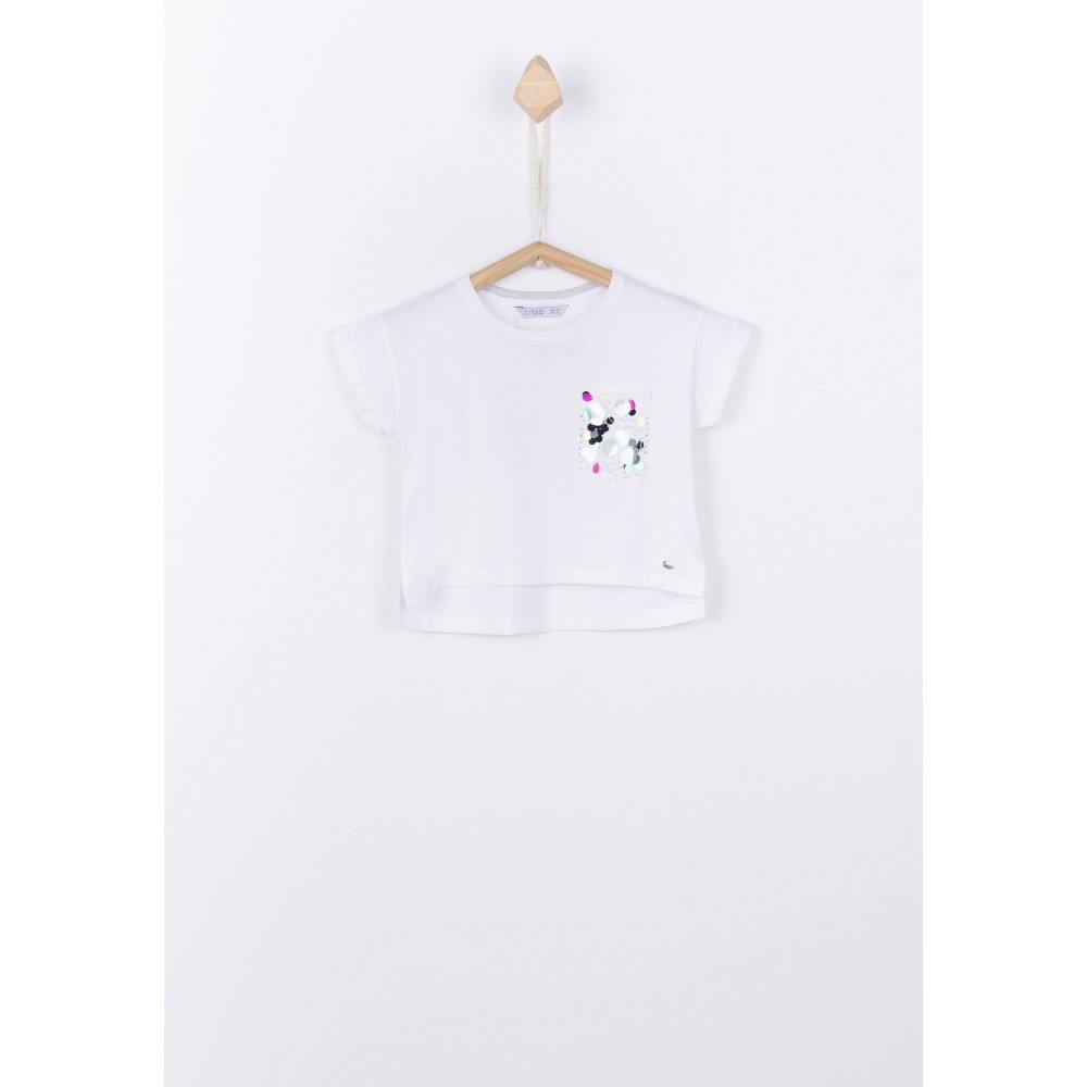 Camiseta Tiffosi Kids Gisaas niña junior manga corta