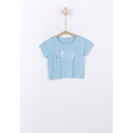 Camiseta Tiffosi Kids Bolanie niña junior corta