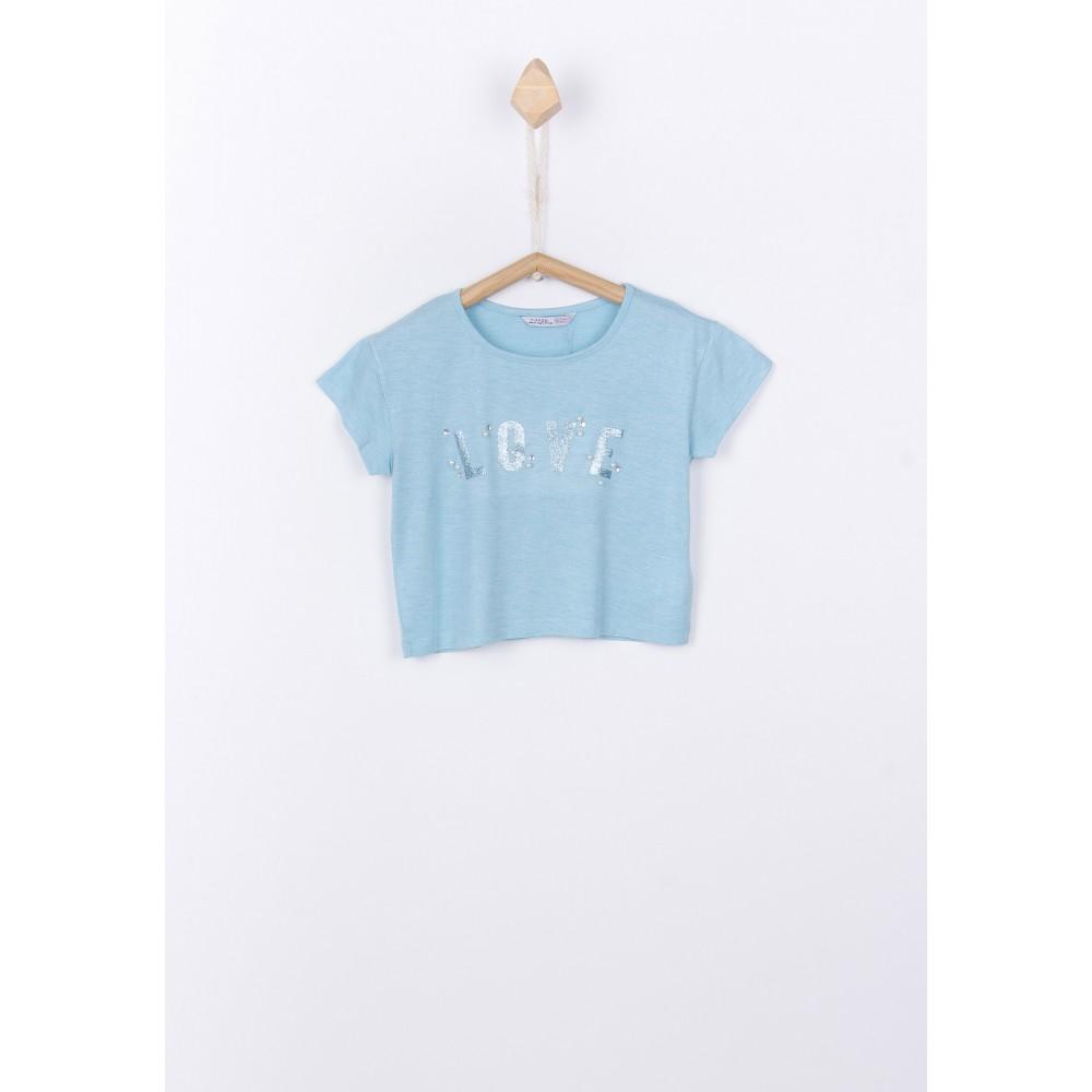 Camiseta Tiffosi Kids Bolanie niña junior corta