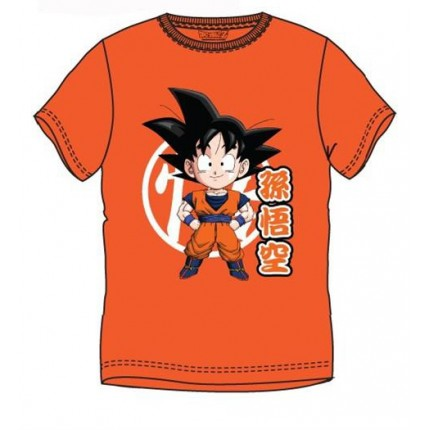 Camiseta Dragon Ball GOKU adulto manga corta
