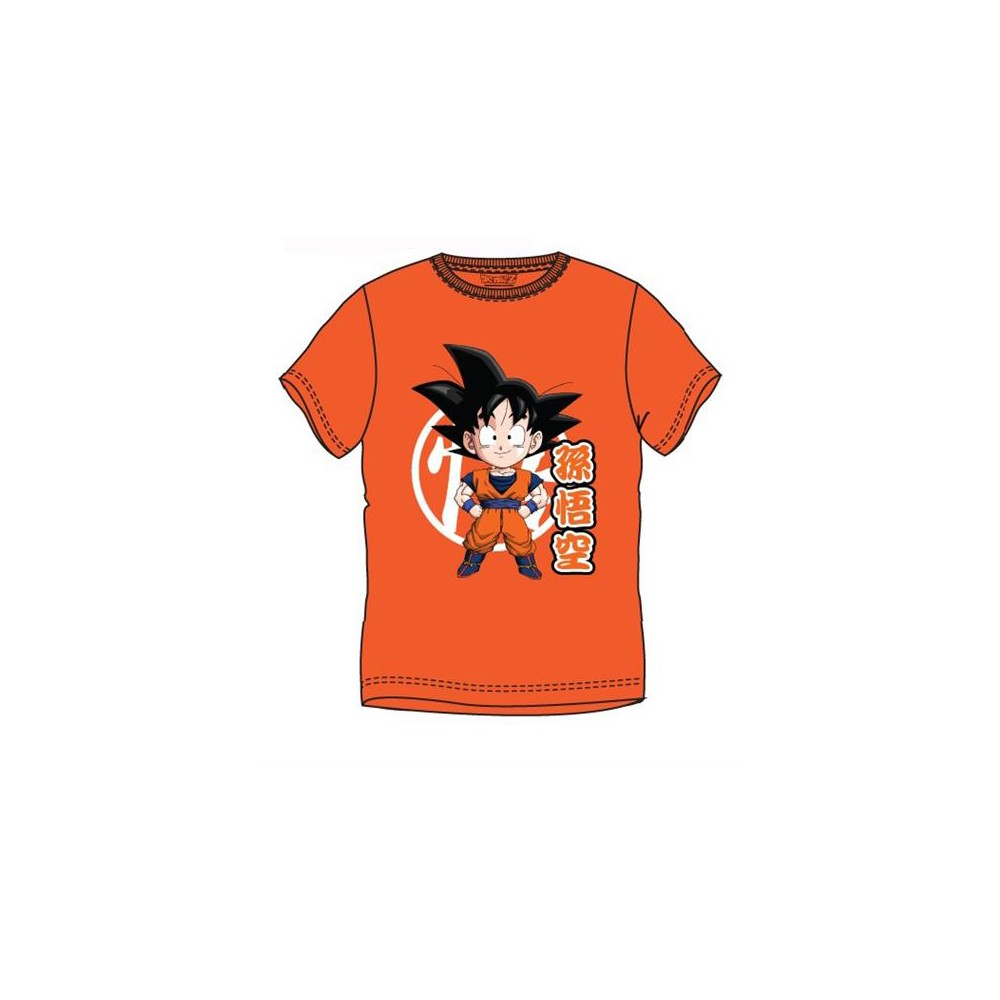 Camiseta Dragon Ball GOKU adulto manga corta