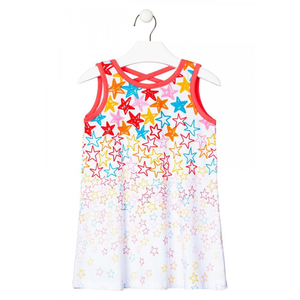 Vestido Losan Kids niña Estrellas sin mangas