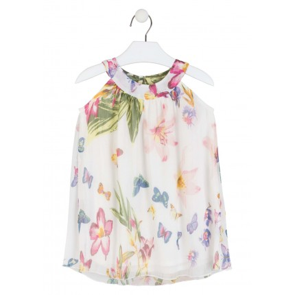Vestido Losan Kids niña Chic Collection mariposas