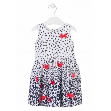 Vestido Losan Kids niña Chic Collection sin mangas