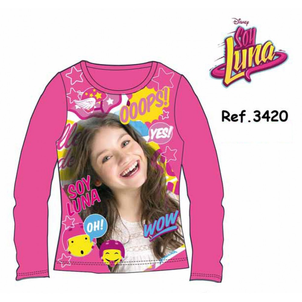Camiseta Soy Luna niña Yes! junior manga larga