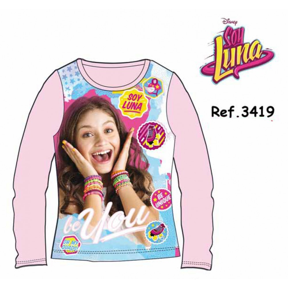 Camiseta Soy Luna niña Patines junior manga larga