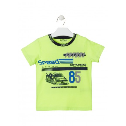 Camiseta Losan Kids niño Future Speed manga corta