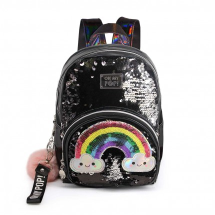 Mochila Oh My Pop Fashion Rainbow