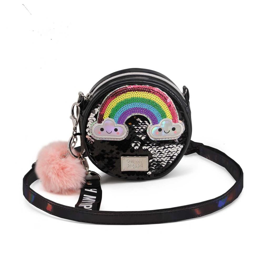 Bolso Oh My Pop Rainbow redondo