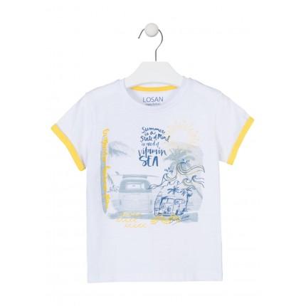 Camiseta Losan Kids niño Summer manga corta