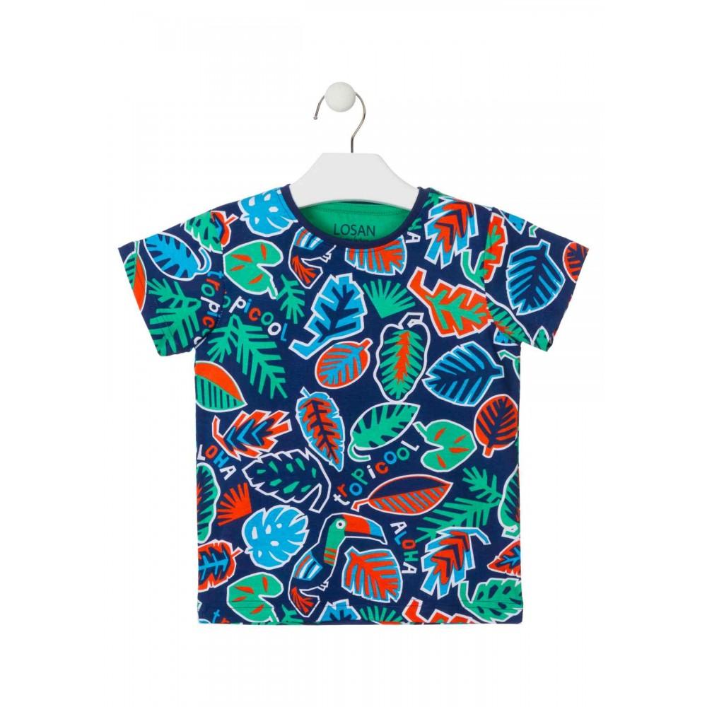 Camiseta Losan Kids niño TropiCool manga corta