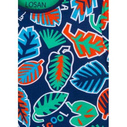 Detalle estampado Camiseta Losan Kids niño TropiCool manga corta