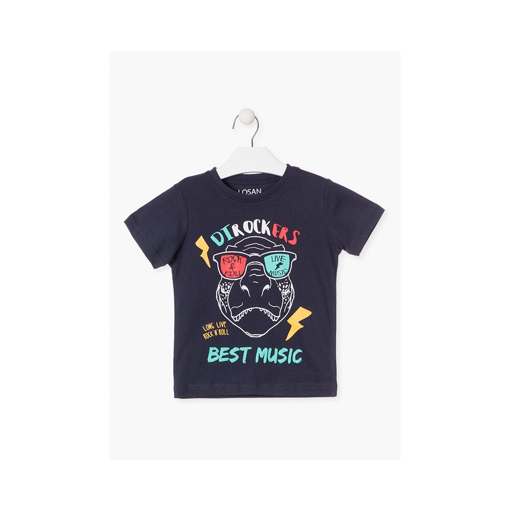 Camiseta Losan Kids niño Dirockers manga corta