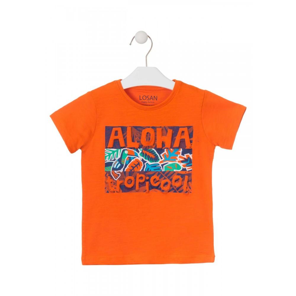 Camiseta Losan Kids niño Aloha TropiCool manga corta