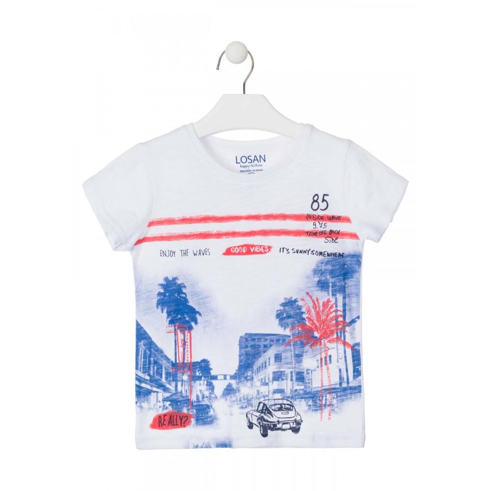 Camiseta Losan Kids niño manga corta