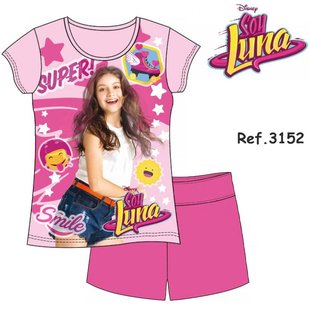 Pijama Soy Luna niña manga corta