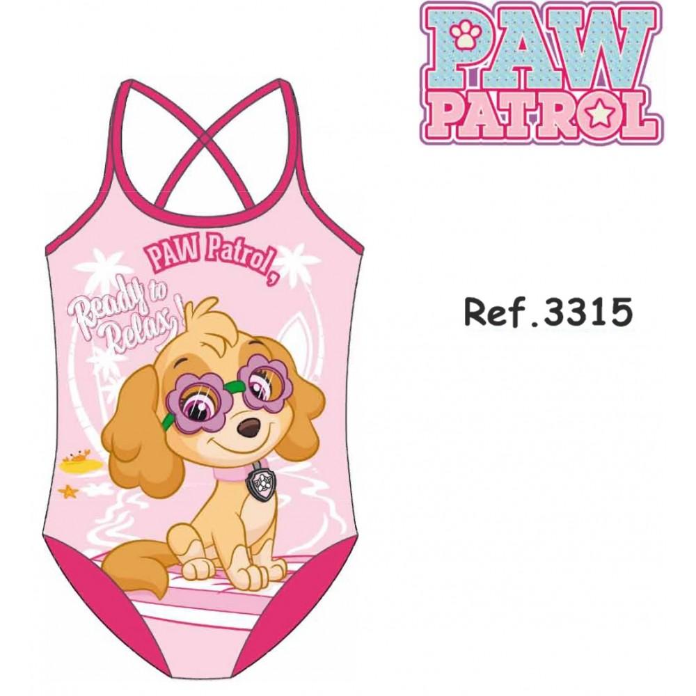 Bañador Paw Patrol niña infantil Sky