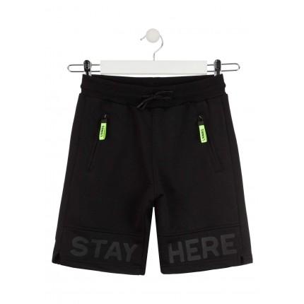 Pantalón Jogging Losan niño Stay Here cordón