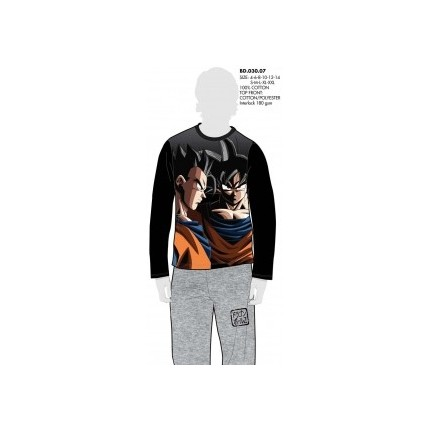 Pijama GOKU Dragon Ball Z niño manga larga