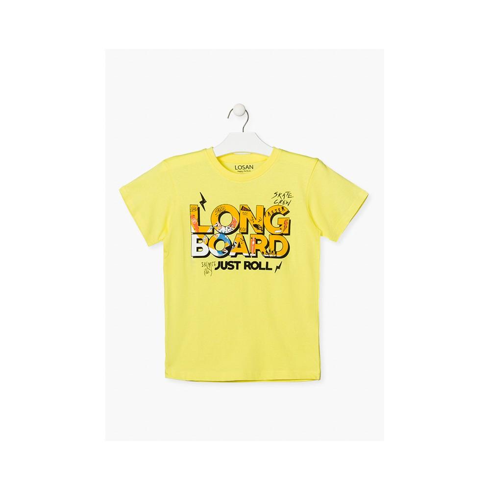 Camiseta Losan niño Longboard manga corta
